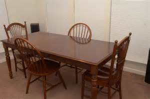 ethan allen table and chairs for sale classifieds