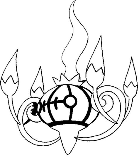 pokemon coloring pages chandelure coloring pages pokemon chandelure drawings pokemon