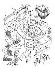 deck engine diagram parts list for model clp21650rv snapper parts walk lawn mower parts