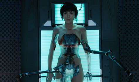 film ghost in the machine ghost in the shell motion poster debuts