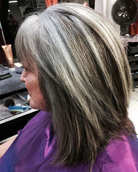 diy lowlights to color grays 17 best ideas about gray hair highlights on pinterest