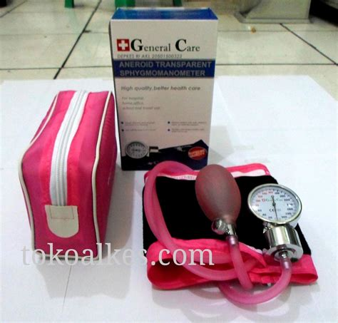 Tensimeter Aneroid General Care harga tensimeter jarum general care transparent