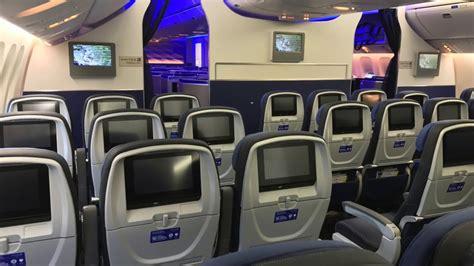 United Airlines BRAND NEW B777-300ER walkthrough - YouTube United Airlines 777 Interior