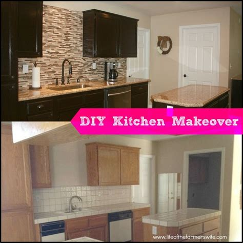 diy old kitchen cabinets diy complete kitchen makeover step by step instructions