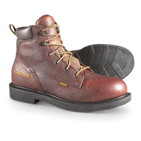 carhartt mens work boots s 6 quot 3705 carhartt 174 work boots 209264 work boots at