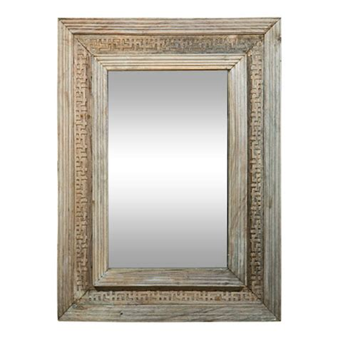 reclaimed wood mirror mirror with reclaimed wood at 1stdibs