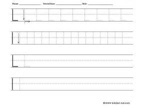 The Letter A Tracing Worksheets For Preschool » Ideas Home Design