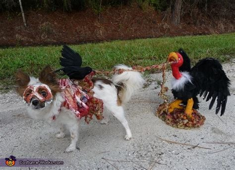 3d roadkill dog homemade roadkill zombie dog costume
