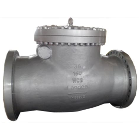 flanged swing check valve flanged swing check valve 150lb dn900 wcb landee valve