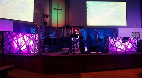 contact churchstagedesignideascom webbed boxes church stage design ideas