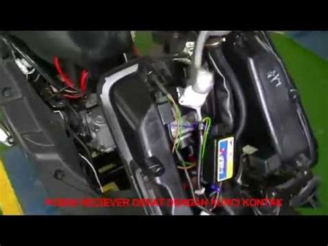 Alarm Motor Matic cara memasang alarm motor brt smart key pada matic dan