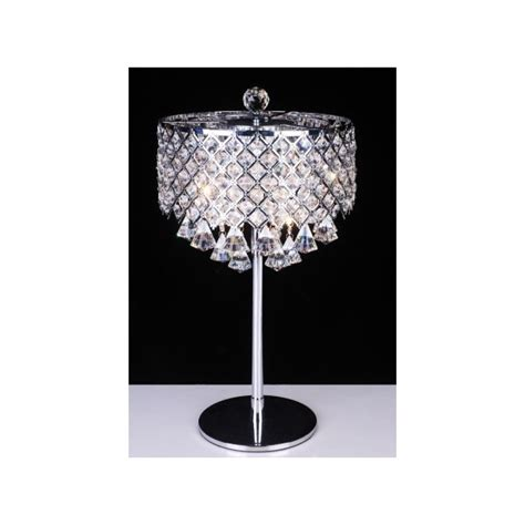 Modern Rectangular Crystal Chandelier Lead Crystal Table Lamp Modern Crystal Table Lamp