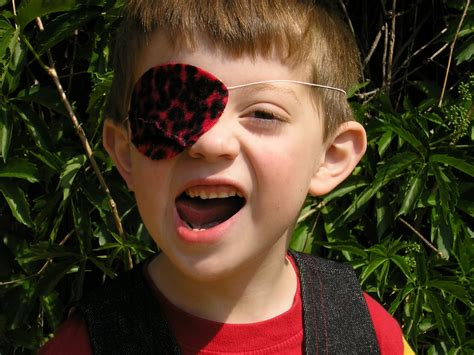 How To Make An Eye Patch Out Of Paper - the letters buccaneer eye patch pattern