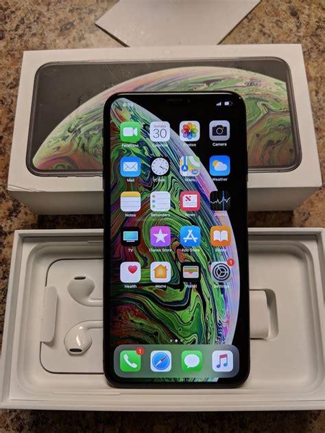 apple iphone xs max 64gb space gray u s cellular a1921 cdma gsm iphone xs iphonexs