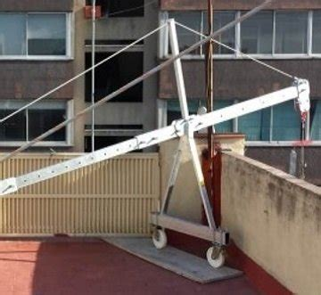alquiler andamios colgantes plataformas suspendidas unic