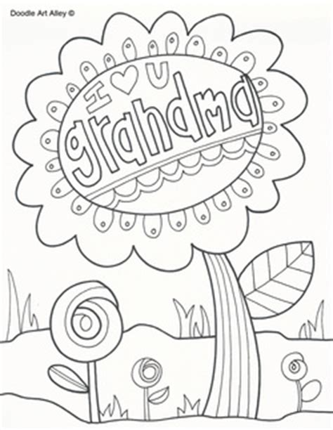 i love you great grandma coloring pages grandma doodle holidays grandparent s day pinterest
