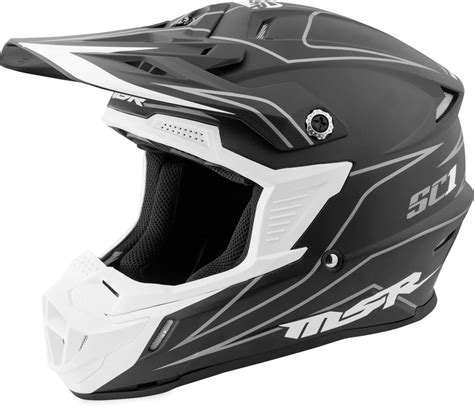 one helmets motocross 119 95 msr sc1 pinstripe motocross mx riding helmet 997989