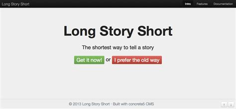 5 themes of a short story an awesome list of top 50 best premium concrete5 template