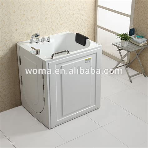 cupc certificate indoor portable elderly walk in bathtub