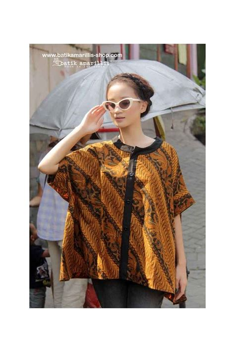 Blouse Santai Bahan Jumputan 294 best klambi batik images on batik dress batik fashion and blouse batik