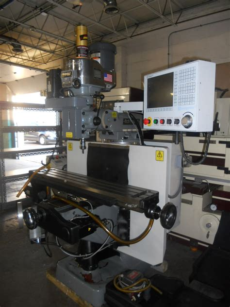 520 Machinery Used Bridgeport Ez Vision 3 Axis Bed Mill