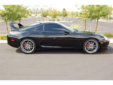 Toyota Supra For Sale In California Turbo 94 Supra Turbo Gorgeous Black Loaded Targa 19 Whls For