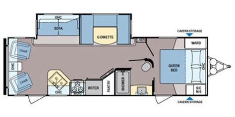 30 foot travel trailer floor plans used 2015 dutchmen coleman 270rl travel trailer for sale