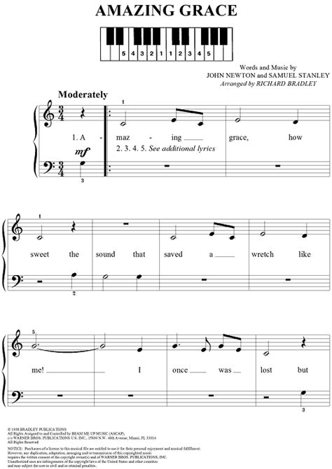 testo grace amazing grace easy guitar sheet sheet