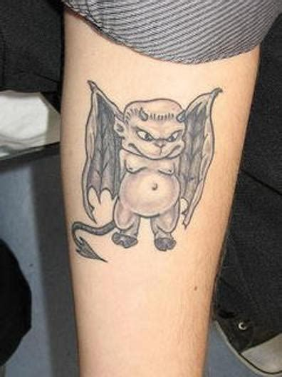 little devil tattoo designs pictures images photos