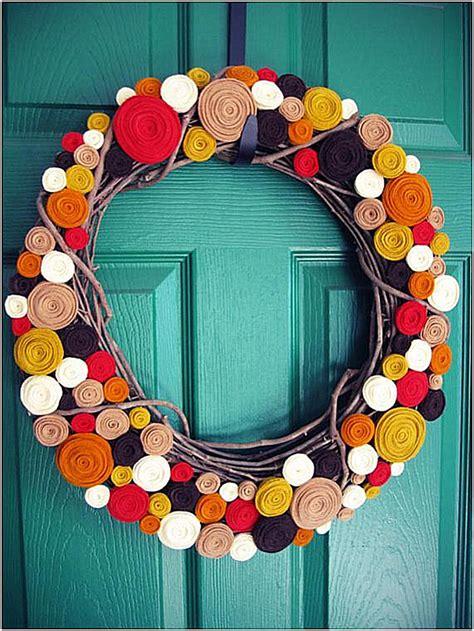 25 gorgeous handmade fall wreaths modern wreath wreaths