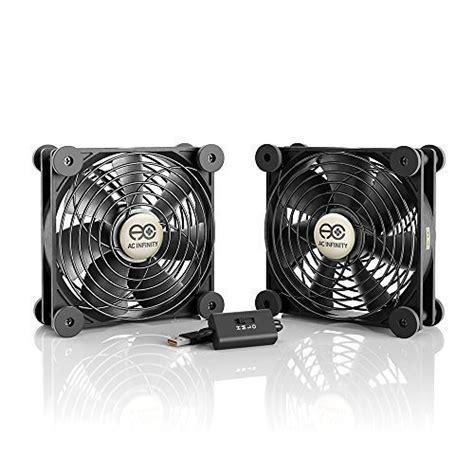 120mm usb fan ac infinity multifan s7 quiet dual 120mm usb fan for