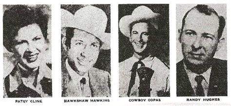 patsy cline cowboy copas hawkshaw hawkins died in plane crash mar 5 1963 celebrities who