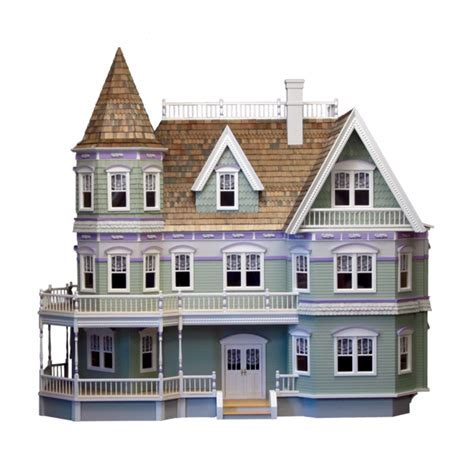 Queen Anne Dollhouse Kit ? Real Good Toys