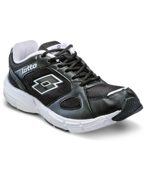 omega sports shoes lotto omega ii black sport shoes price in india buy lotto