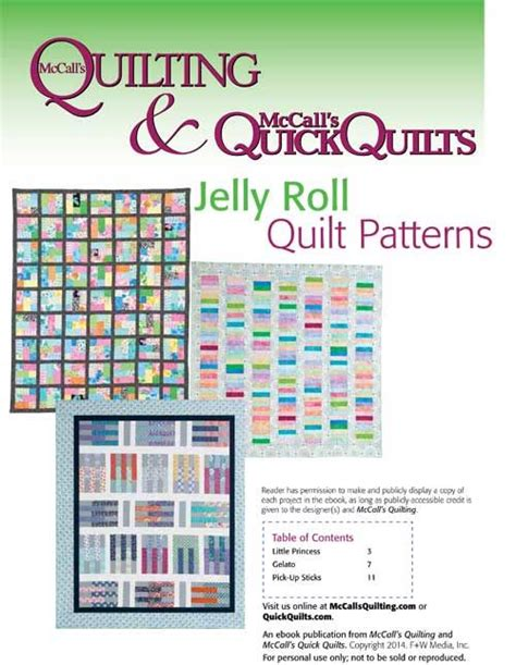 Mccalls Patchwork Patterns - free jelly roll quilt patterns from mccall s quilting