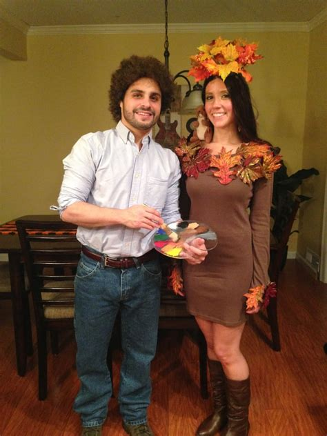 bob ross  happy  tree homemade halloween