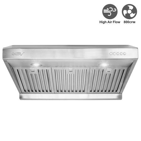 30 inch led cabinet light bv 30 inch cabinet high airflow 800 cfm ducted