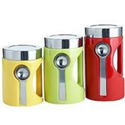 colorful kitchen canisters colorful canisters with spoons pier 1 for my kitchen