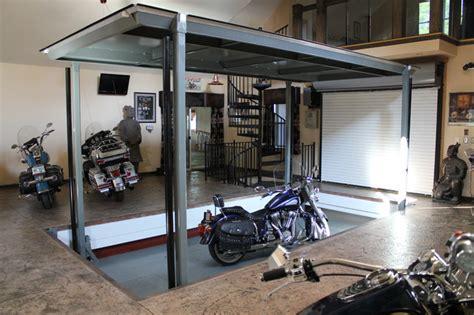 auto elevator phantompark contemporary garage and shed