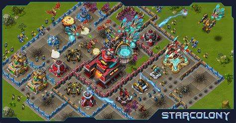 strategy game layout starcolony online browser space strategy game