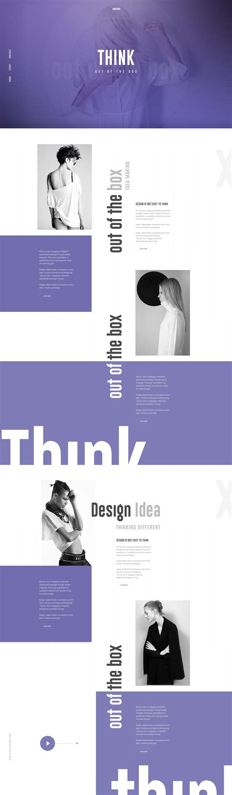boxed layout inspiration think out of the box by surja sen das raj on inspirationde