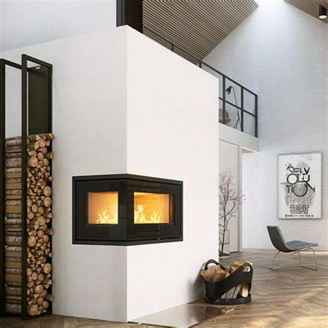 Two Sided Wood Burning Fireplace Insert by The World S Catalog Of Ideas