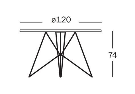 magis tavoli tavolo xz3 tavolo rotondo magis milia shop