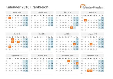 Ostern 2018 Kalender Feiertage 2018 Frankreich Kalender 220 Bersicht