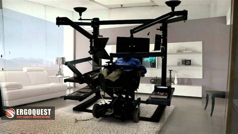recliner gaming setup recliner workstation desk youtube