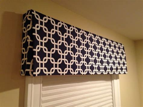 Window Valance Box No Sew Box Valance Home Ideas Box Valance