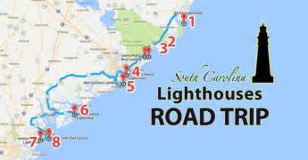 the lighthouse road trip in south carolina that is