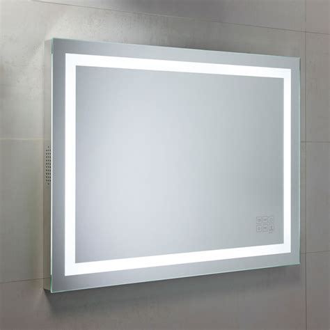 Bathrooms Mirrors Roper Beat Illuminated Mirror Ukbathrooms