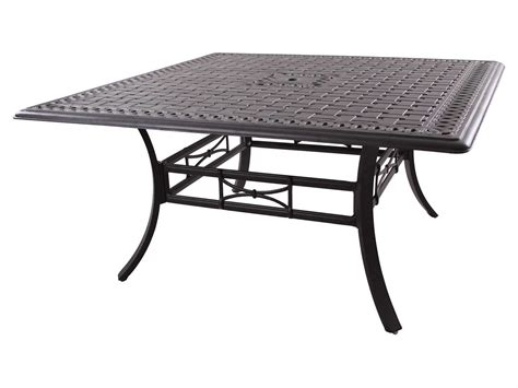 60 Patio Table Darlee Outdoor Living Series 88 Cast Aluminum Antique
