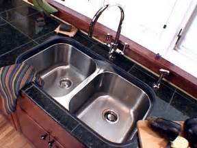 installing an undercounter sink in a granite tile